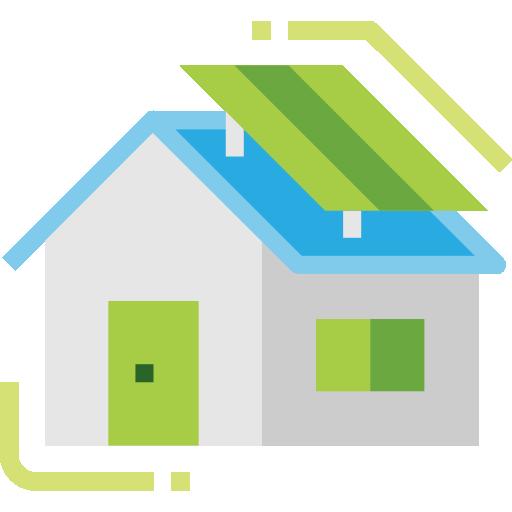 Immobilie Haus grüne Energie Solarzelle Geld investieren nachhaltige etf