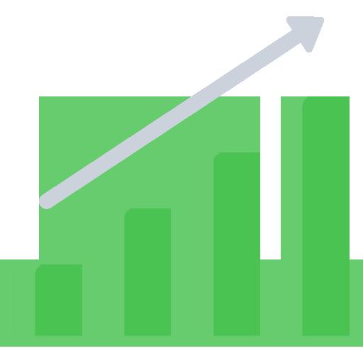 Gewinn Statistik investieren Steigerung Aktien sparplan