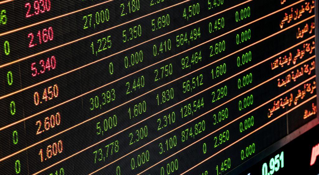 Aktienmarkt Börse Handel Wertpapier Aktien