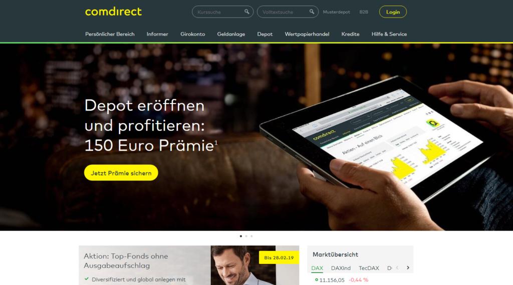 comdirect Depot Startseite Sparplan Wertpapiersparplan Sparplan Vergleich