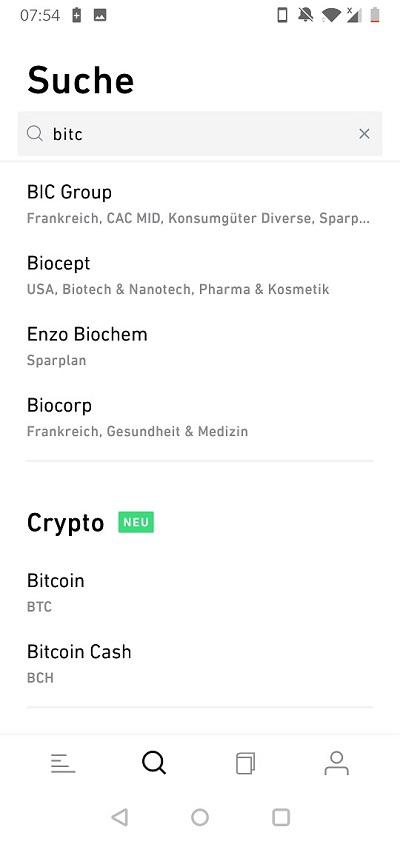 Trade Republic Krypto Sparplan Bitcoin Ethereum Litecoin